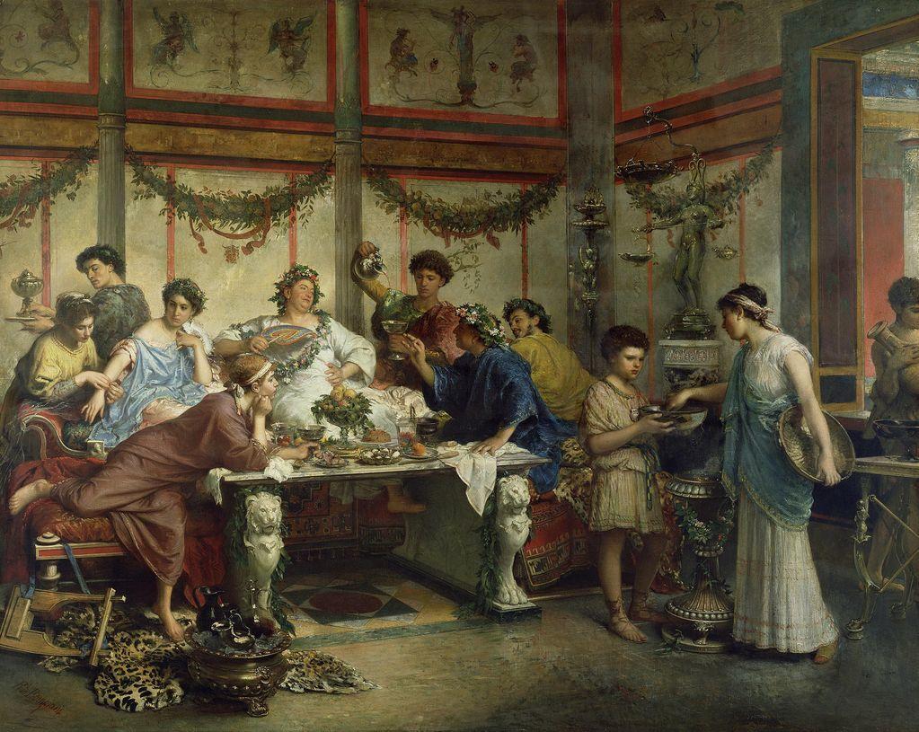 Оргии римских патрициев