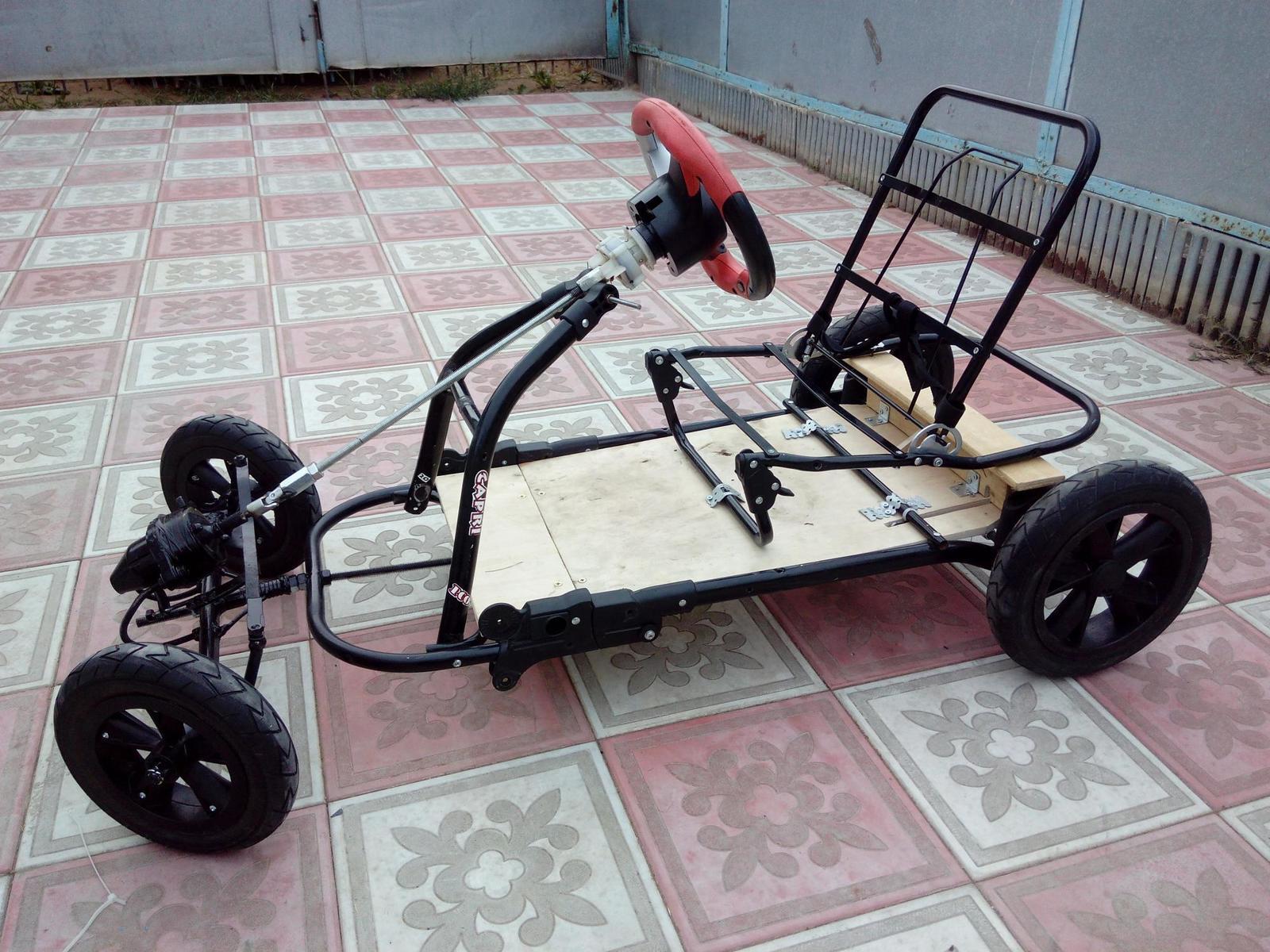 Как сделать электромобиль для сына