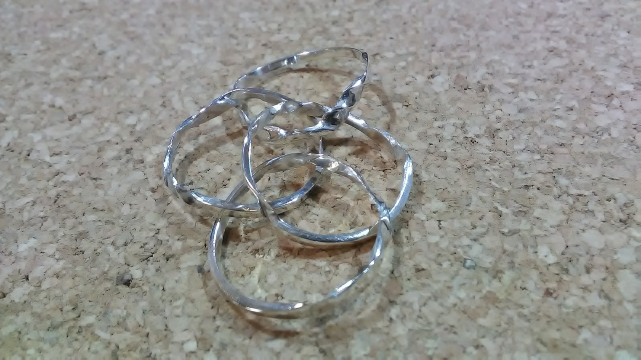 Как сделать кольцо - головоломку