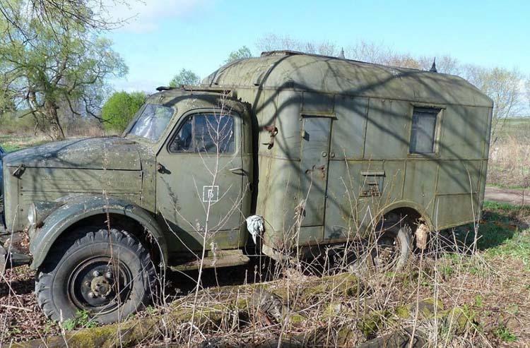 Реставрация грузовика ГАЗ-63
