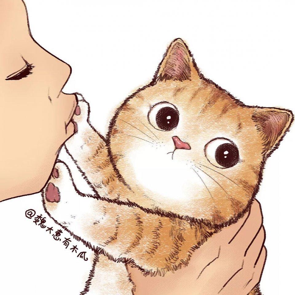 Поцелуй моего котенка