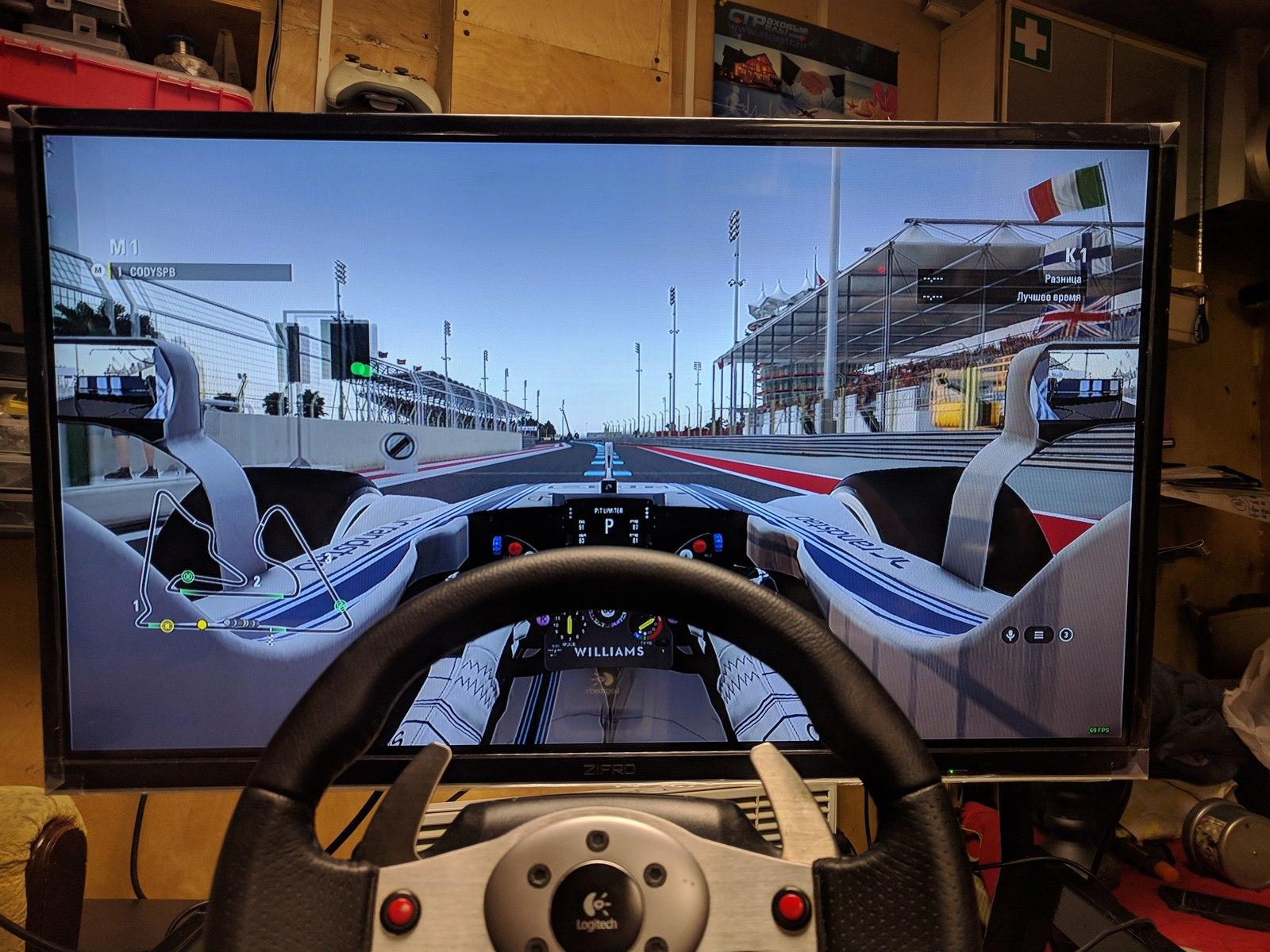 Как стать виртуальным гонщиком мастерская