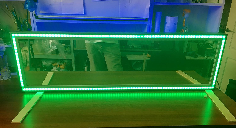 Зеркало с подсветкой и пультом своими руками мастерская
