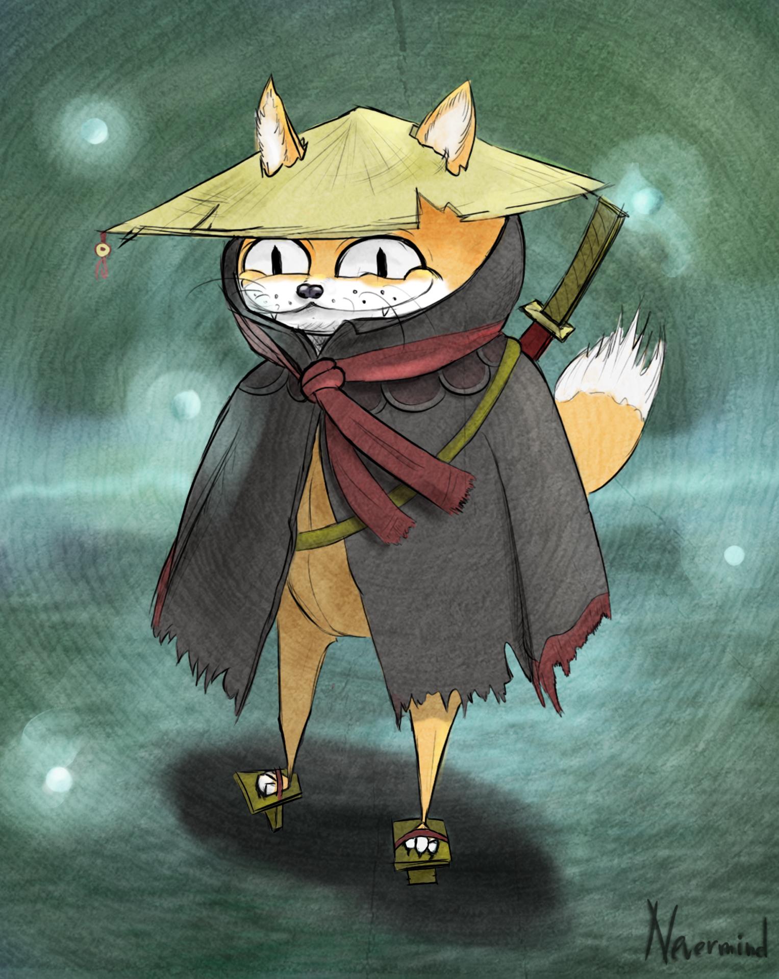 японские персонажи животные