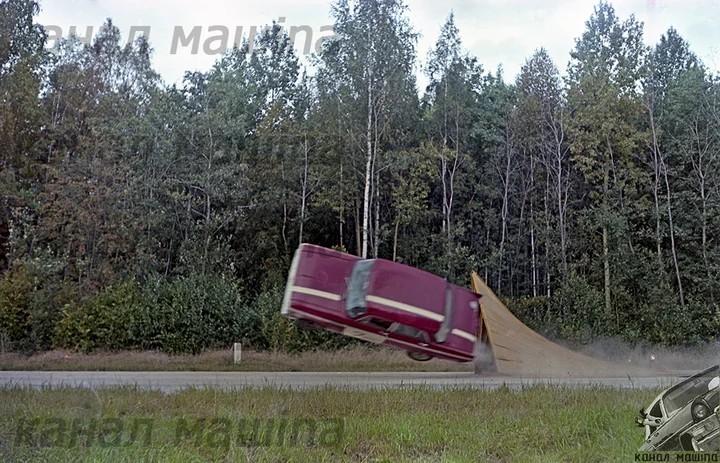 "Как проводили краш-тест автомобиля ""Москвич 412"""