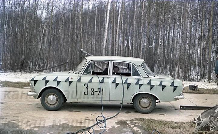 Как проводили краш-тест автомобиля