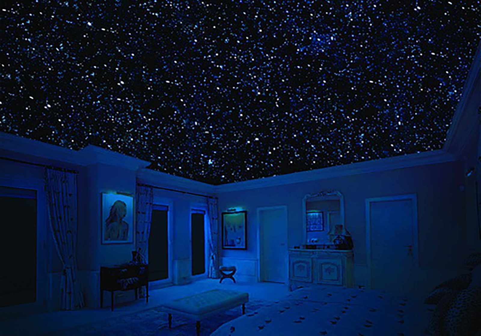 Как сделать звездный потолок своими руками фото 803