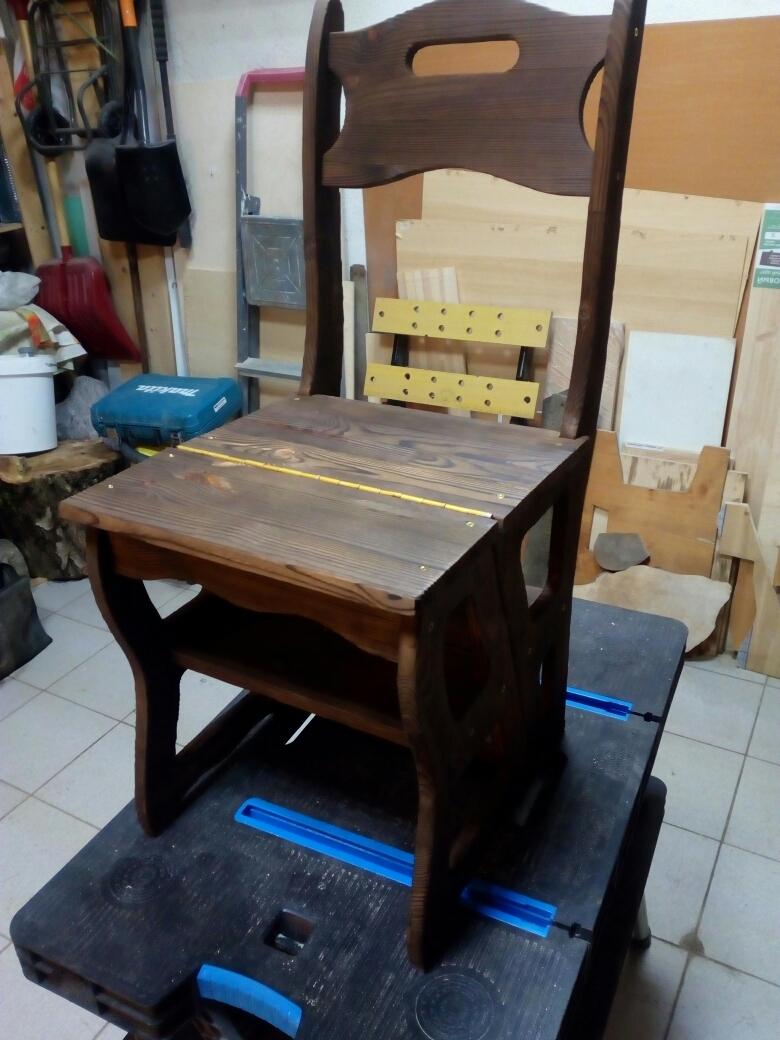 Для дома своими руками стул