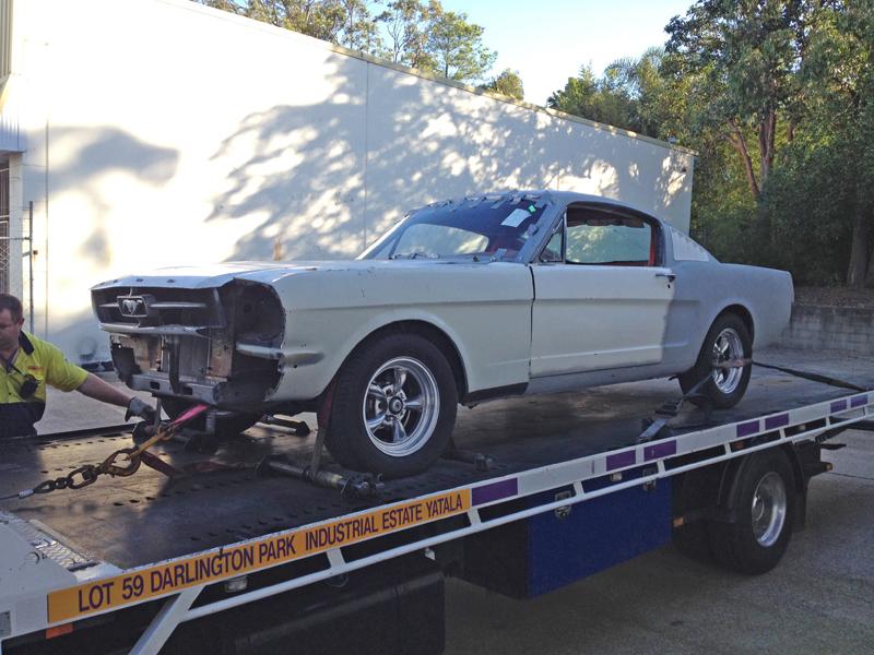 Реставрация Ford Mustang Fastback 1965