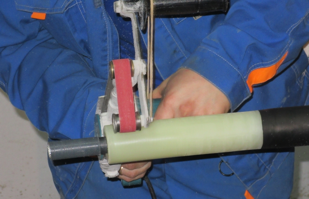 Установка кабельных муфт на кабель из сшитого полиэтилена фото 132