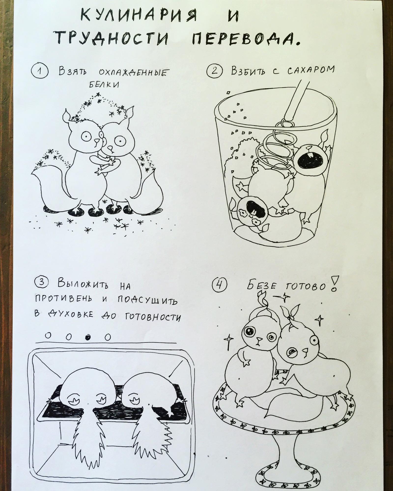 Рецепт 3 белка