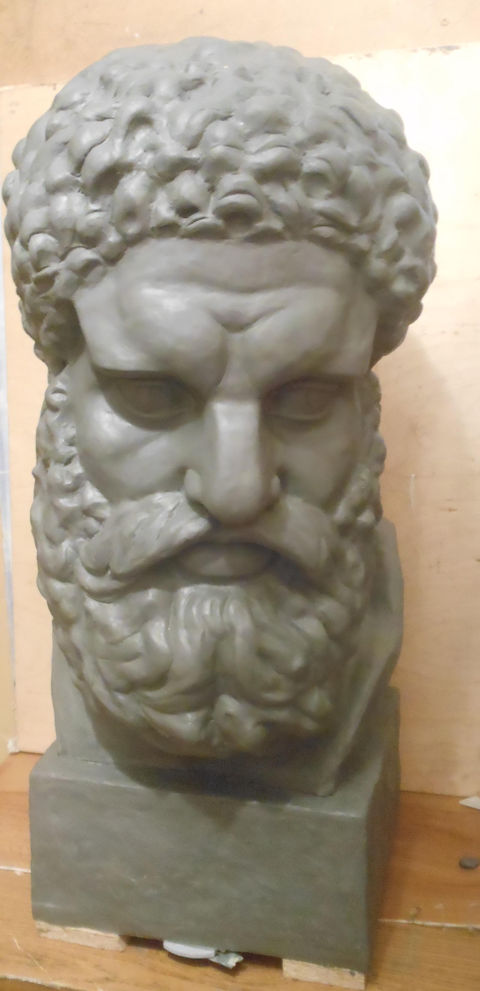 Голова статуи своими руками
