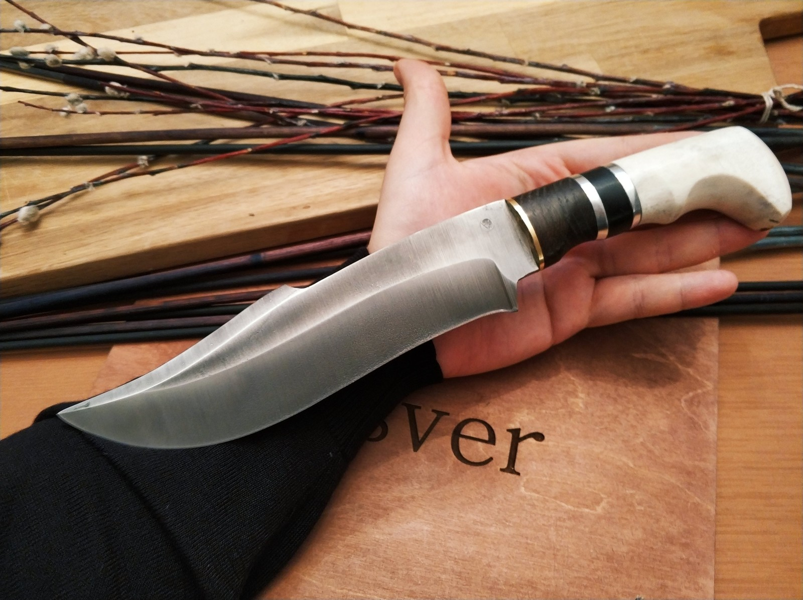 Нож из кости своими руками фото 231