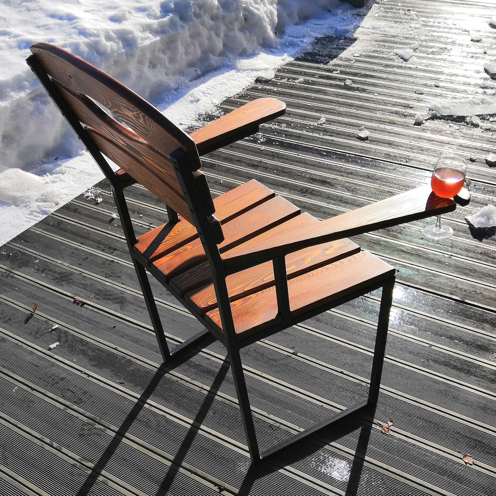 Кресло для отдыха из дерева своими руками