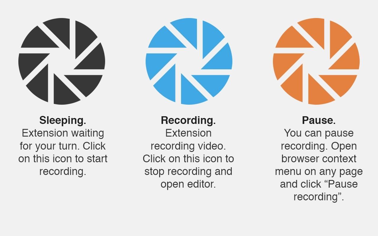Записываем видео с экрана в один клик с помощью Chrome-расширения