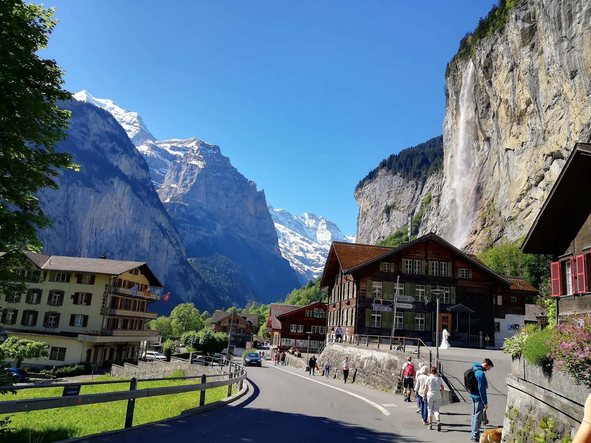 Обои швейцария, swiss alps, zermatt, долина, дома, альпы. Пейзажи foto 19