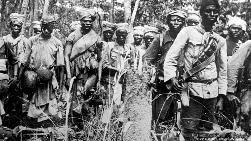 Африка и Первая мировая война | Пикабу