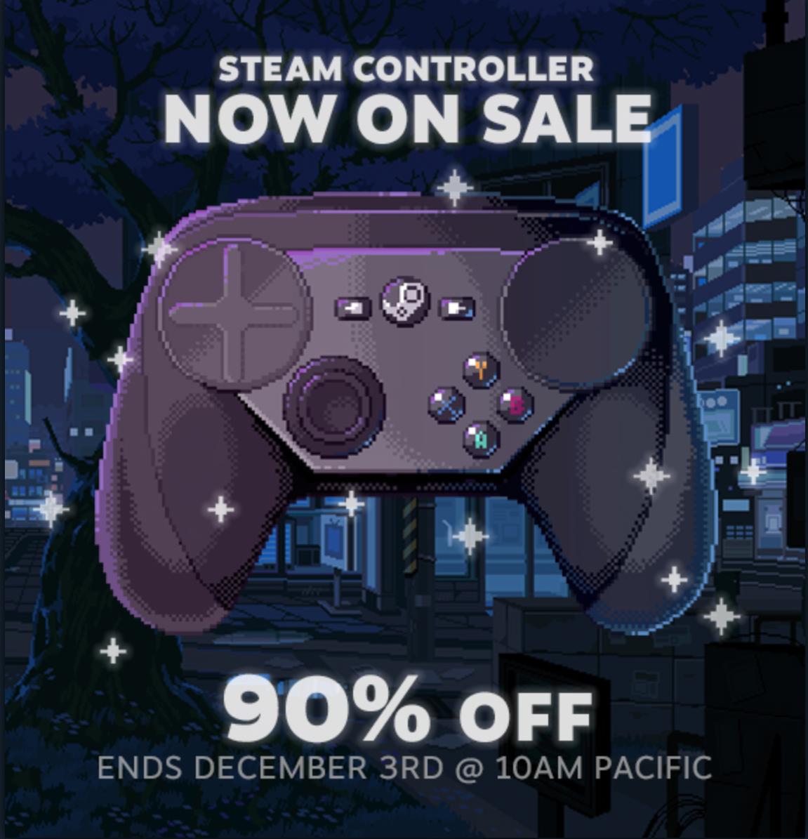 Steam Controller 90% скидка (не СНГ, но заморочившись можно купить с доставкой в СНГ) Steam, Распродажа, Steam Controller, Длиннопост