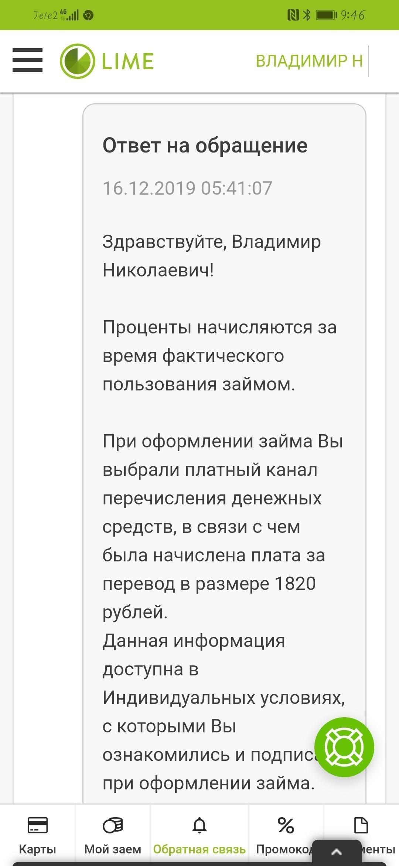 бирге ру мол булак кредит