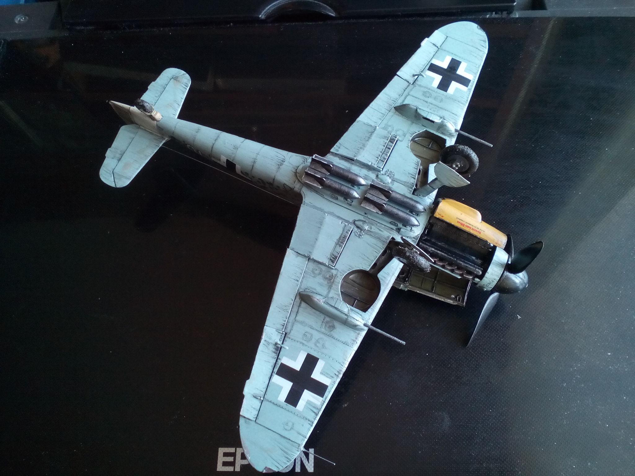 Обои Подвесной топливный бак, gustav, bf-109, мesserschmitt, б-17, Bf.109G-10, бомбардировщик. Авиация foto 18