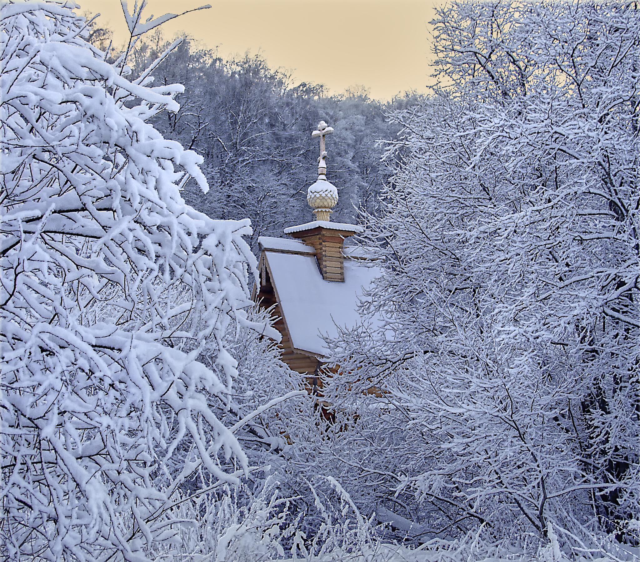 Картинка новый год зима
