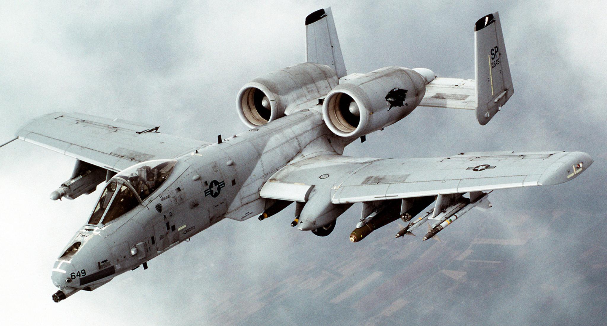 Обои republic, американский, A-10, бронированный, Fairchild, thunderbolt ii. Авиация foto 12