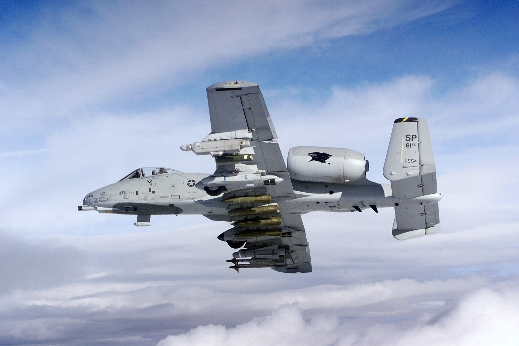 Обои republic, американский, A-10, бронированный, Fairchild, thunderbolt ii. Авиация foto 15