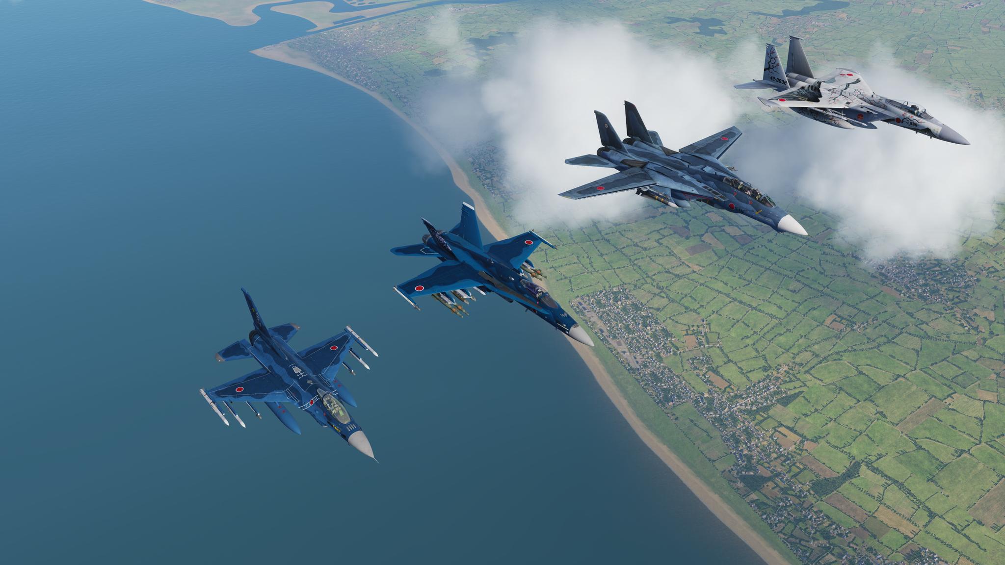 Обои Самолёт, f-15j. Авиация foto 2